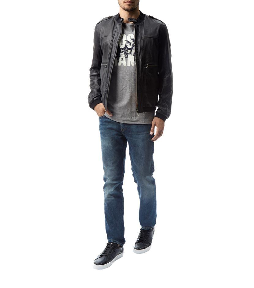 boss orange orange63 london slim fit jeans in blue for men. Black Bedroom Furniture Sets. Home Design Ideas