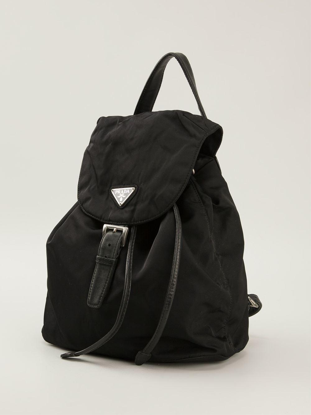 brown leather prada handbag - prada vintage eyelet backpack, prada alligator handbag