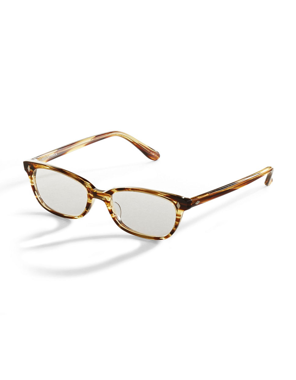 corinne mccormack 50mm cyd reading glasses in brown lyst