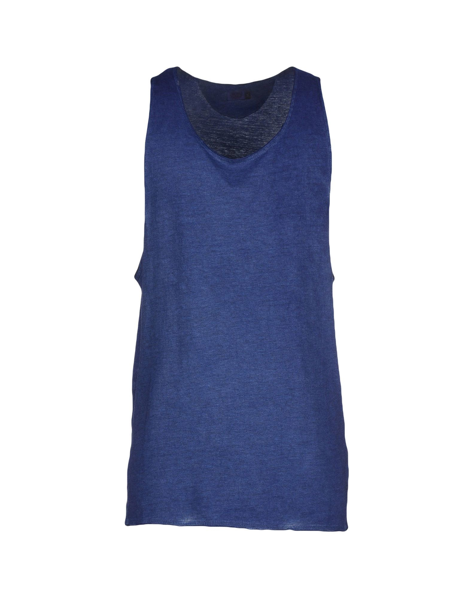 originals by jack jones tank top in blue for men lyst. Black Bedroom Furniture Sets. Home Design Ideas