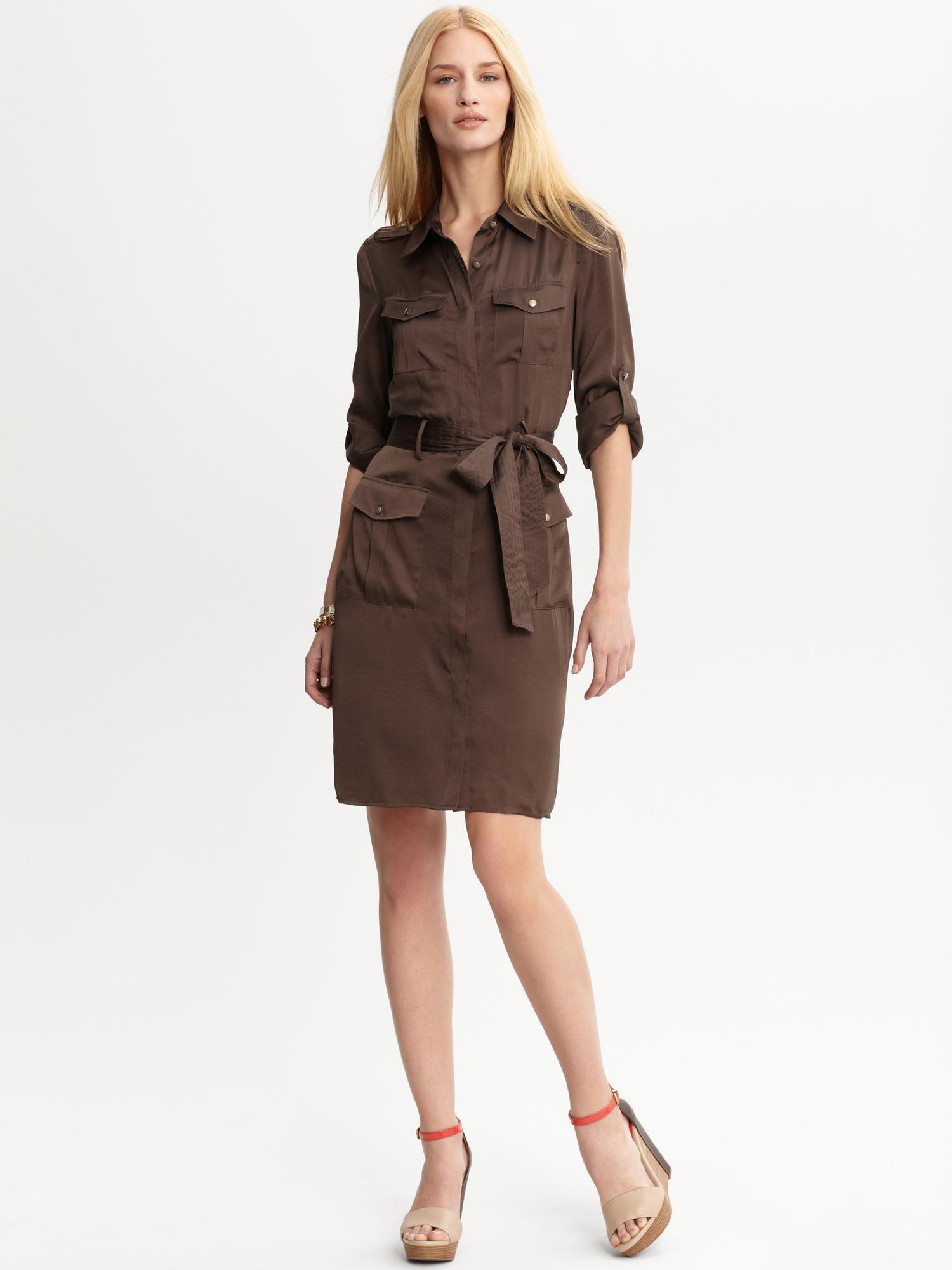 Brown Safari Dress images
