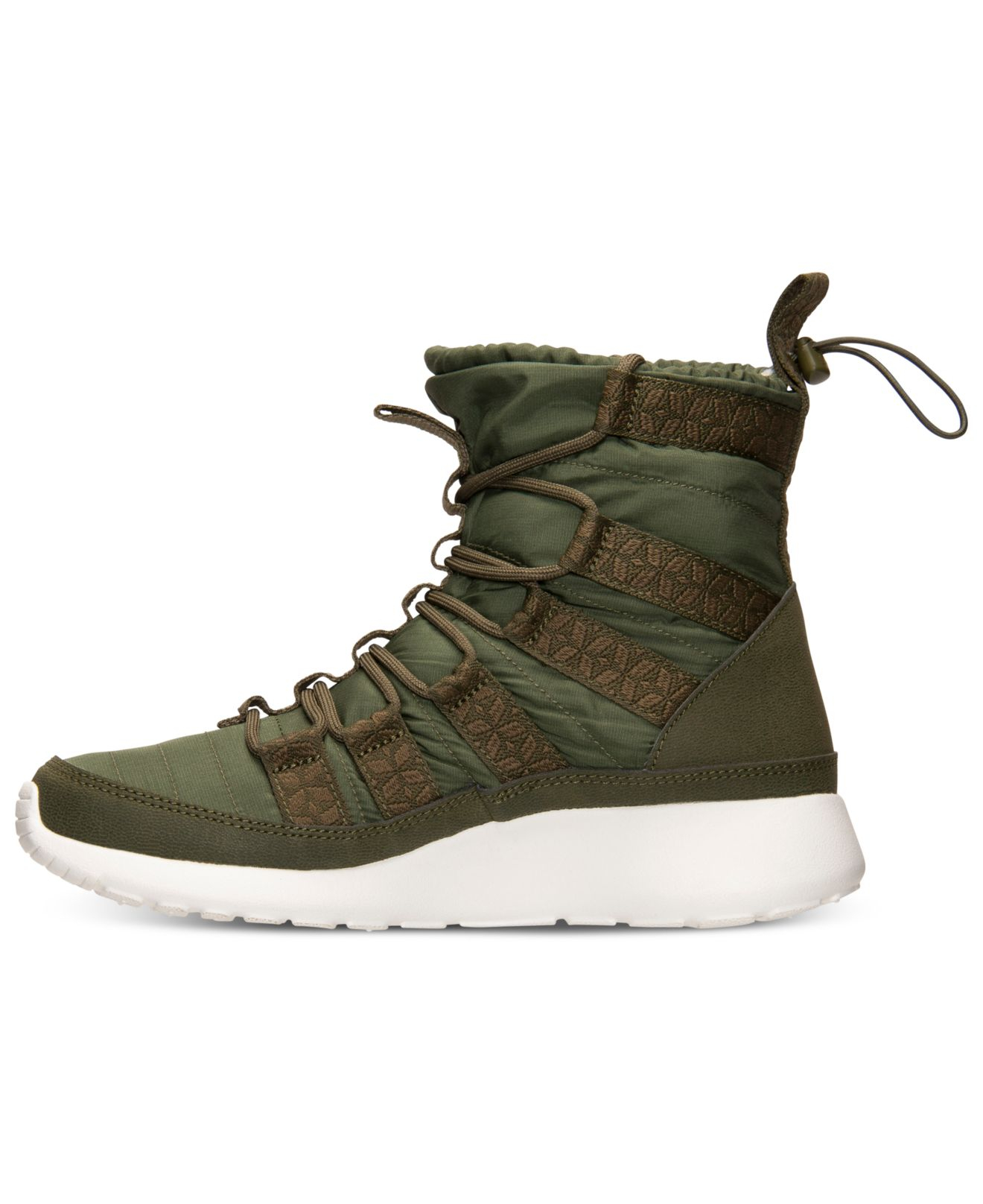 bb2745690363 ... sweden lyst nike womens roshe run hi sneakerboots from finish line in  green 5e050 fc9f1 ...