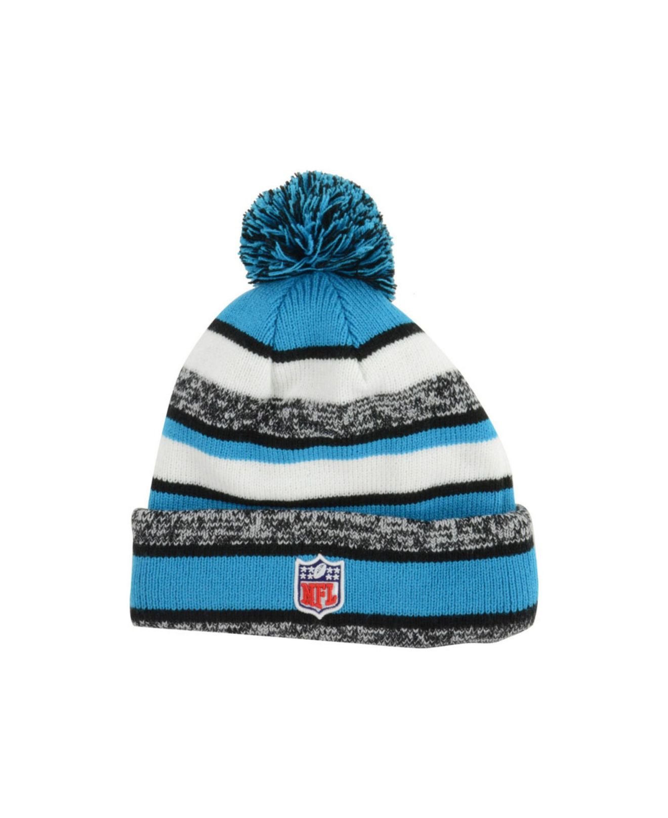 0249984a3 Lyst - KTZ Carolina Panthers Sport Knit Hat in Blue for Men