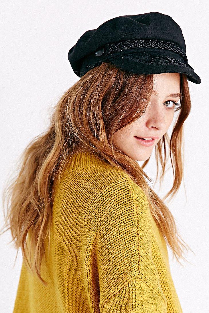 4d2ef049849 Lyst - Urban Outfitters Greek Fisherman Hat in Black