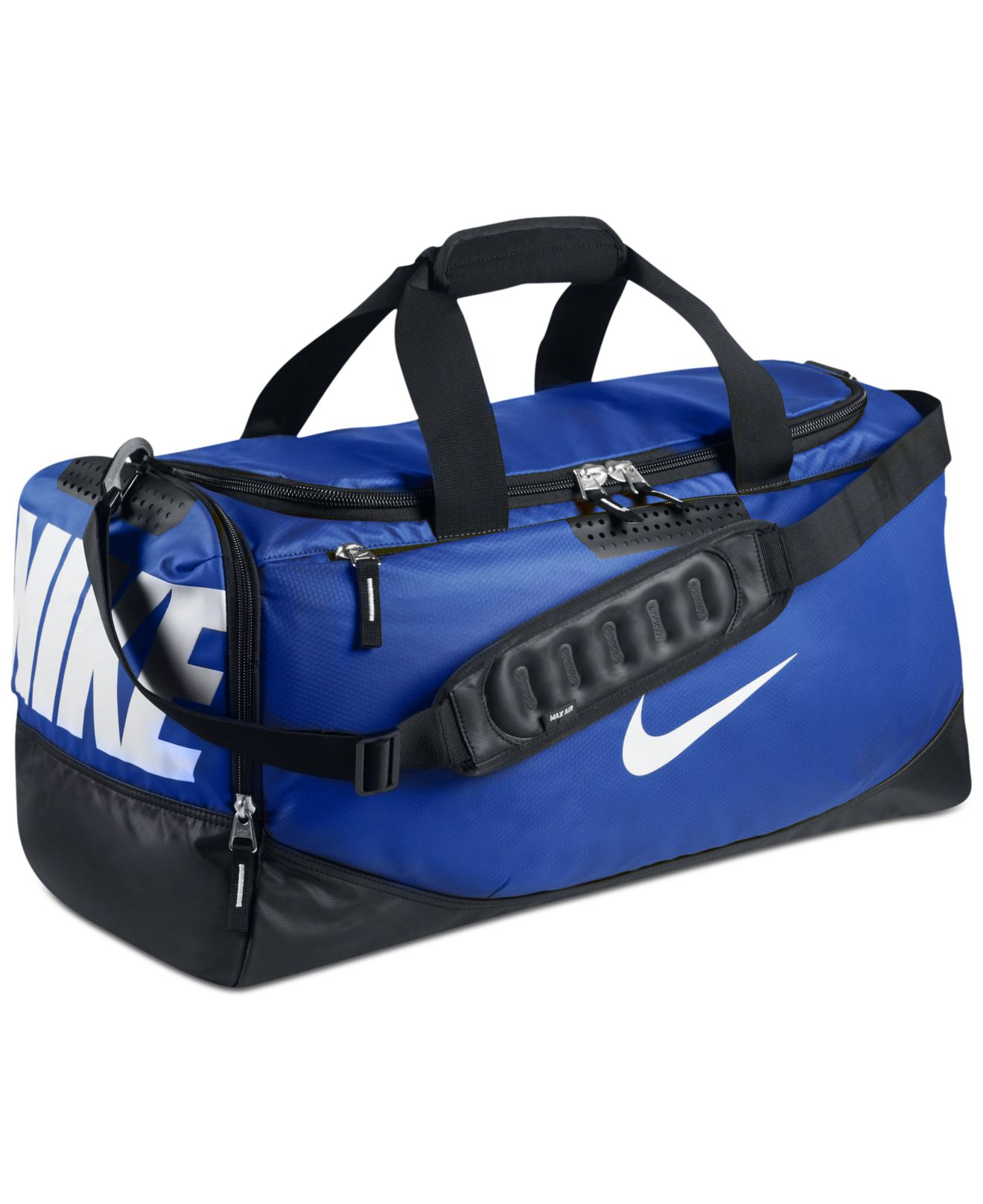 b33a5b056a Lyst - Nike Water Resistant Team Training Medium Duffle Bag in Blue ...