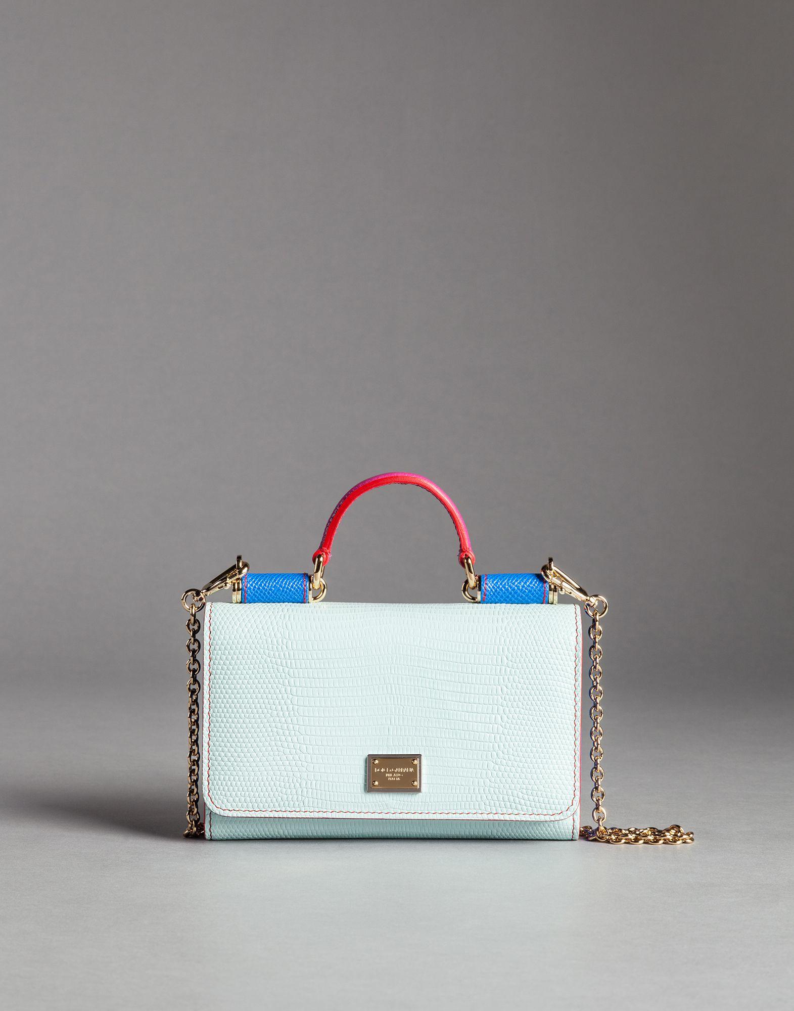 53862e1280 Dolce   Gabbana Mini Von Bag Mix Limited Edition in Green - Lyst