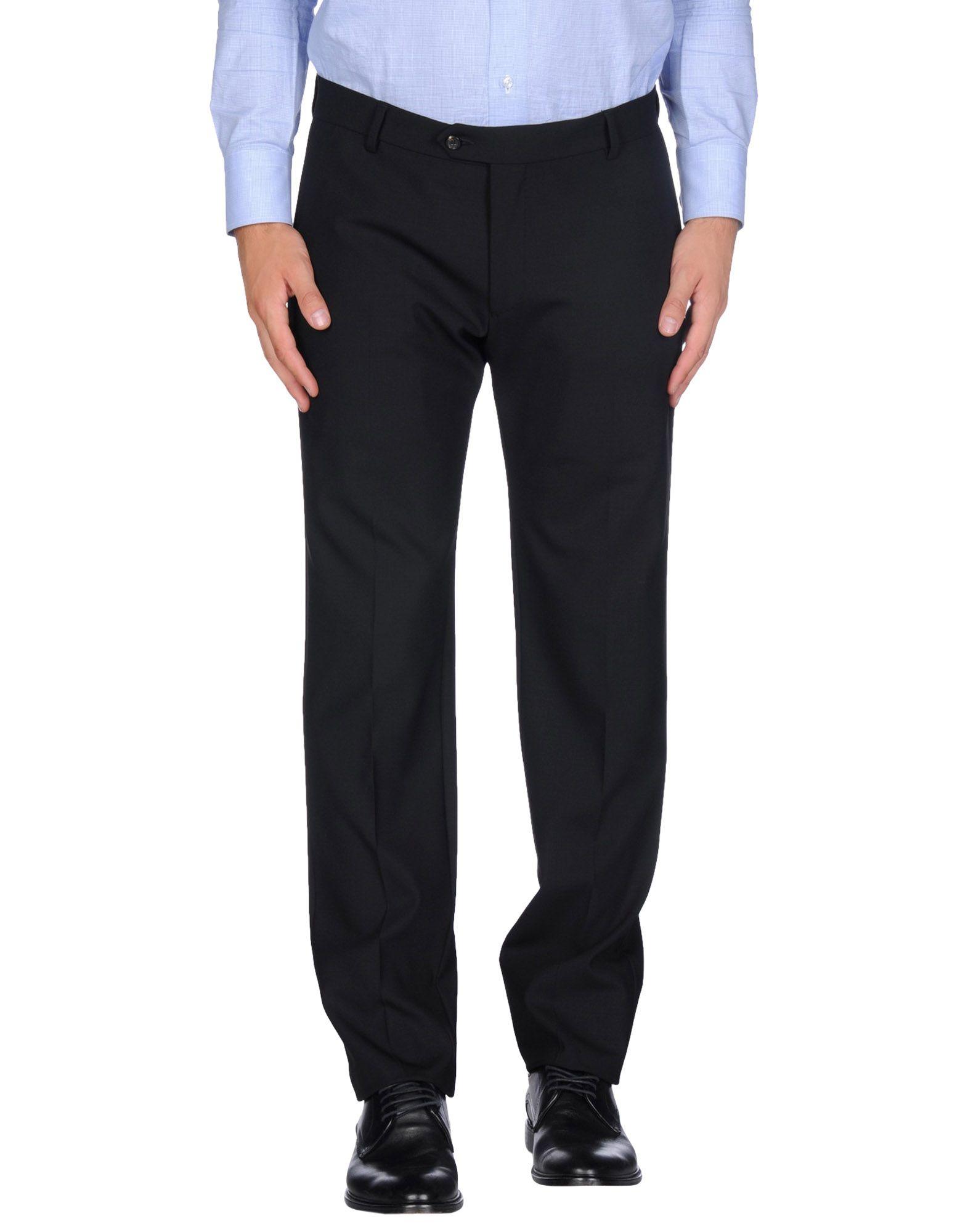 Lyst Tonello Casual Trouser In Black For Men