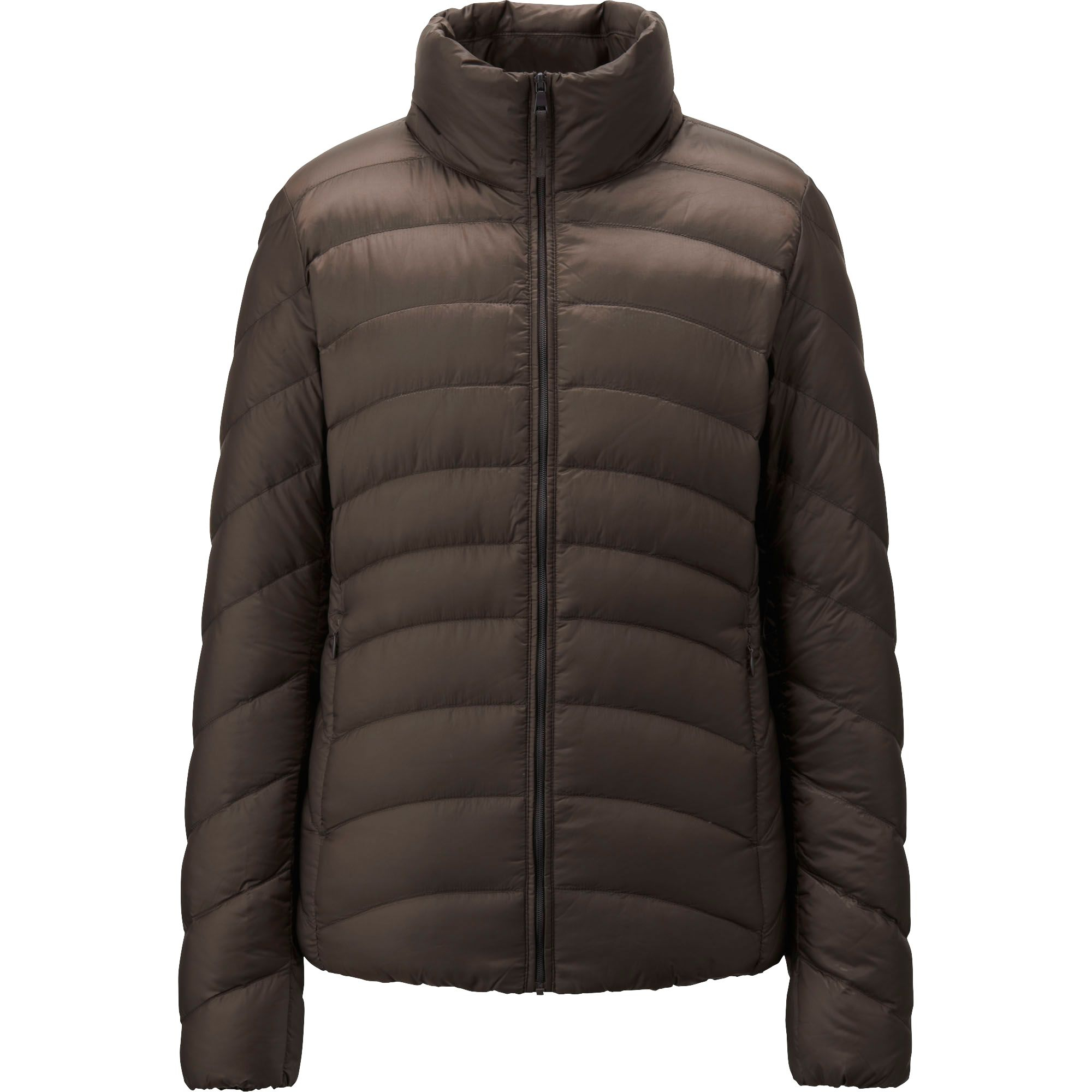 uniqlo ultra light down jacket in brown dark brown lyst. Black Bedroom Furniture Sets. Home Design Ideas