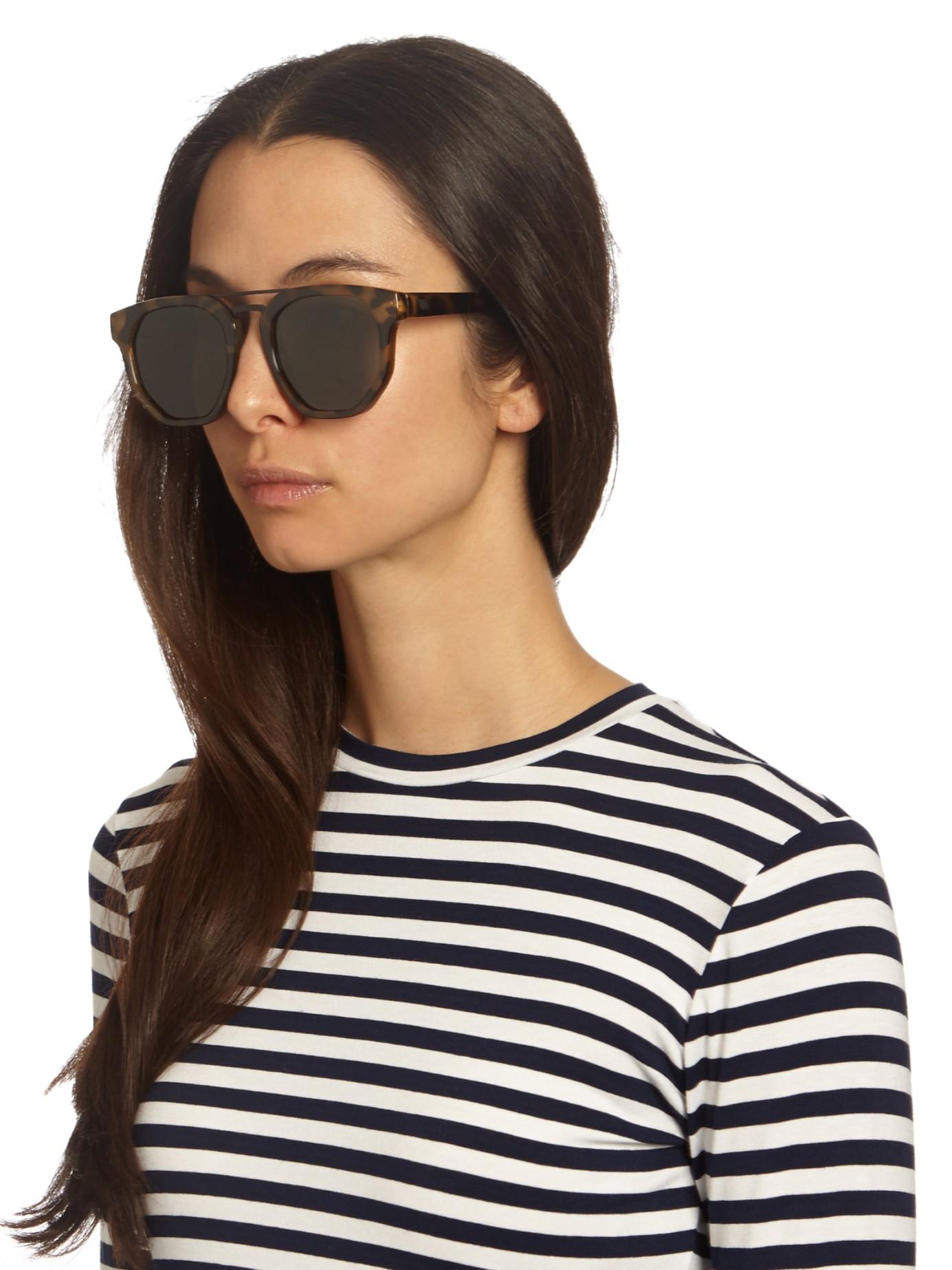 0878120c7f Lyst - Le Specs Thunderdome Sunglasses in Black