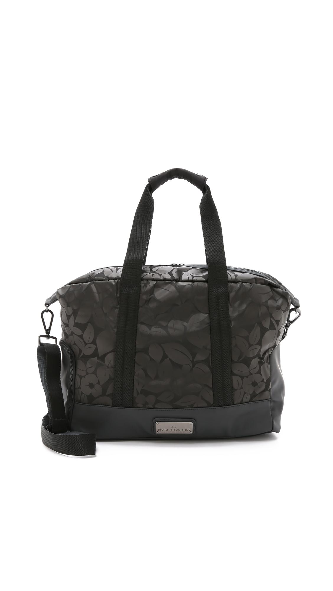 948235e84c Lyst - adidas By Stella McCartney Small Gym Bag - Black gunmetal in ...