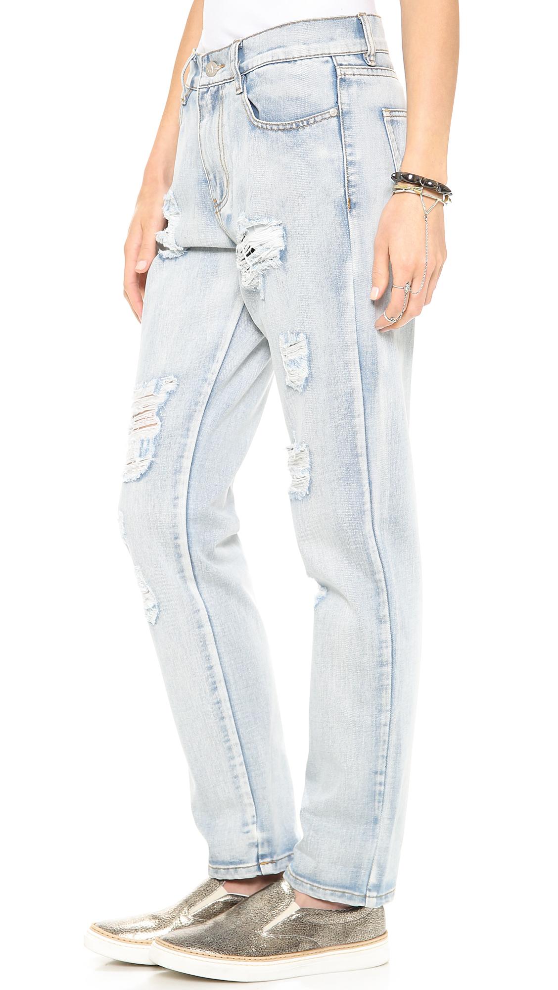 Minkpink Womens Instinct Blues Boyfriend Jeans Minkpink Sale Largest Supplier vyOuaG