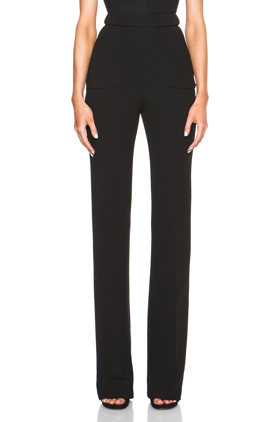 River Island Navy Trousers