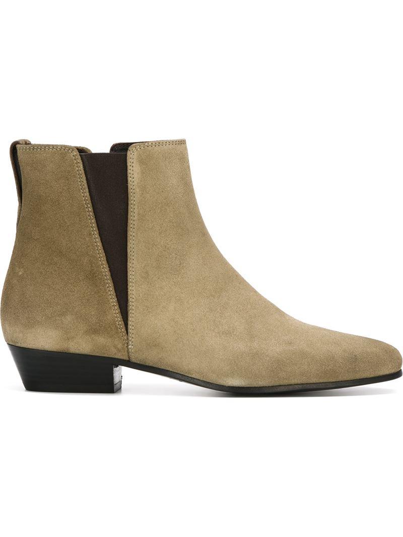f16a299a3782 Lyst - Isabel Marant Étoile  patsha  Boots in Natural