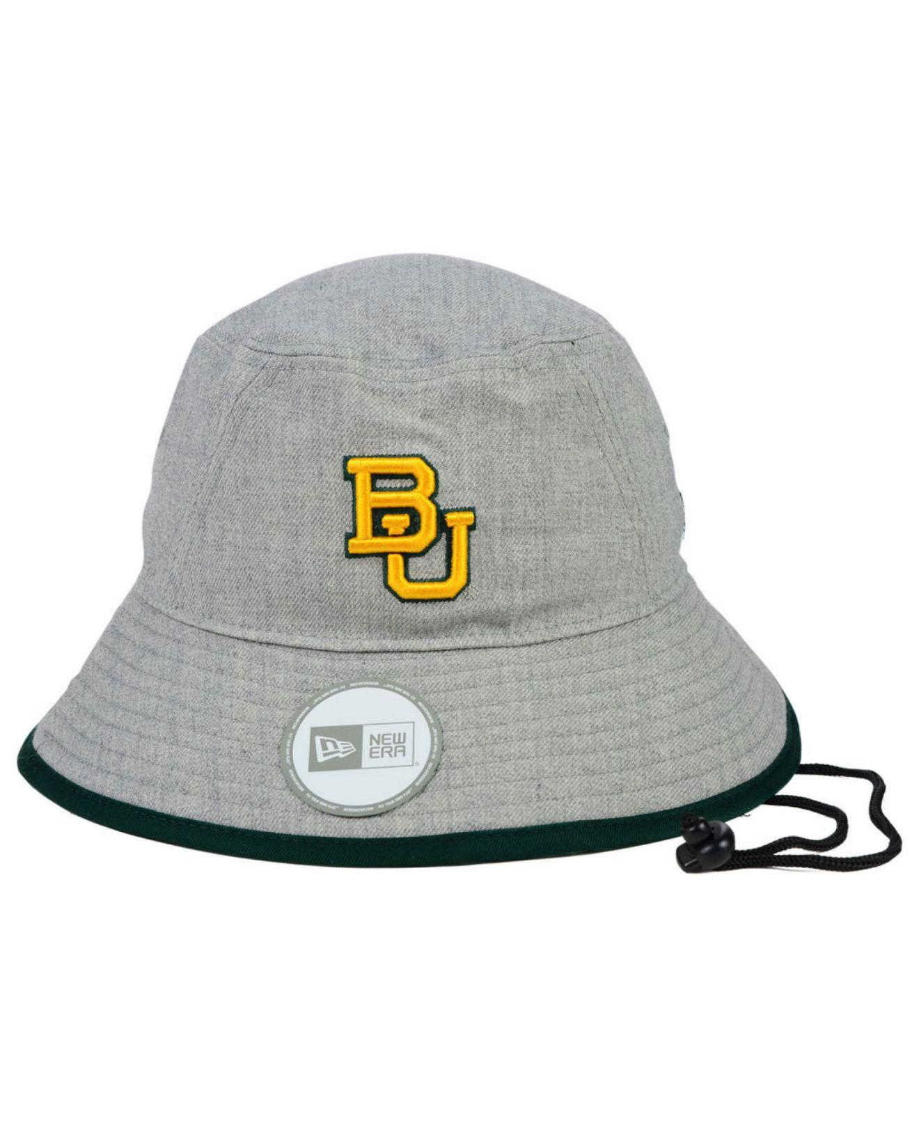 63c3b27920d Lyst - Ktz Baylor Bears Tip Bucket Hat in Gray for Men
