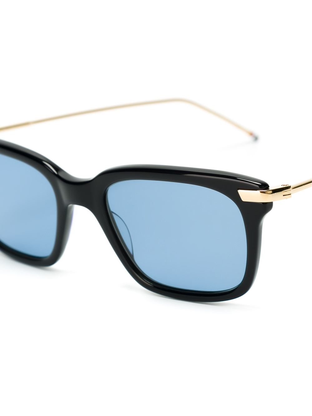Square Gold Frame Sunglasses : Thom browne Square Frame Sunglasses in Gold for Men ...