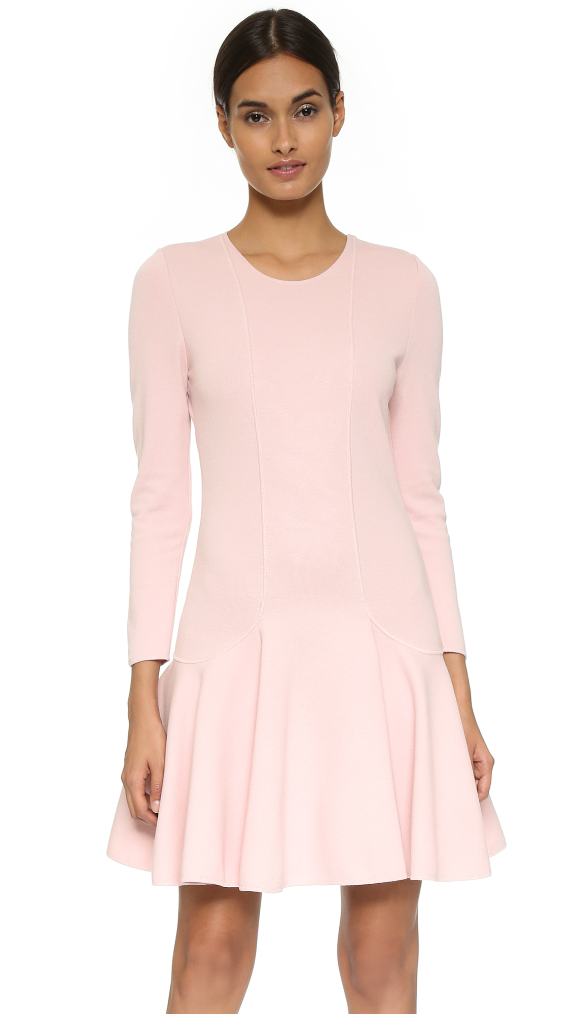 Giambattista valli Swingy Sweater Dress - Light Pink in Pink | Lyst
