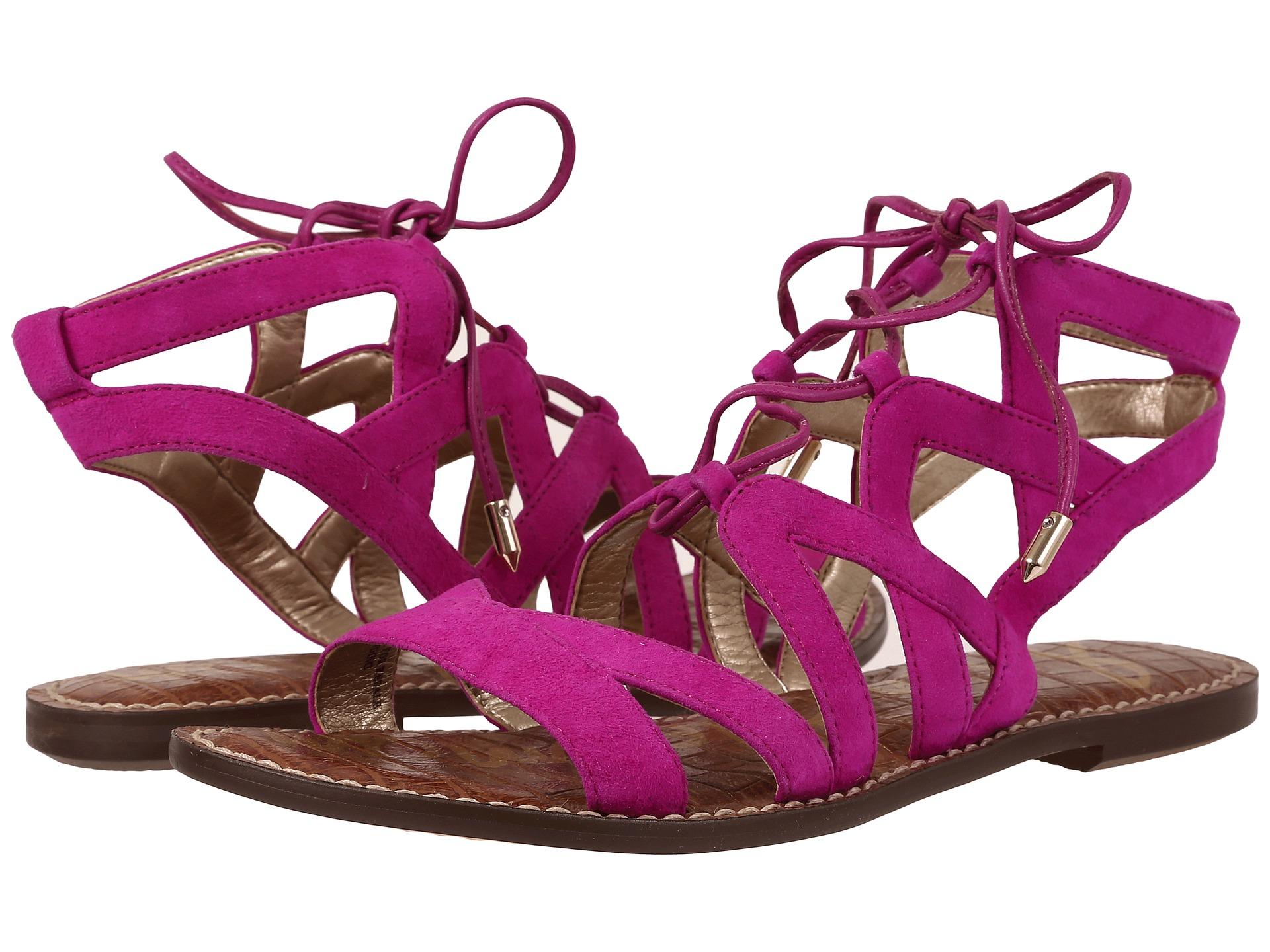 43a844dd1f0 Lyst - Sam Edelman  gemma  Sandals in Purple