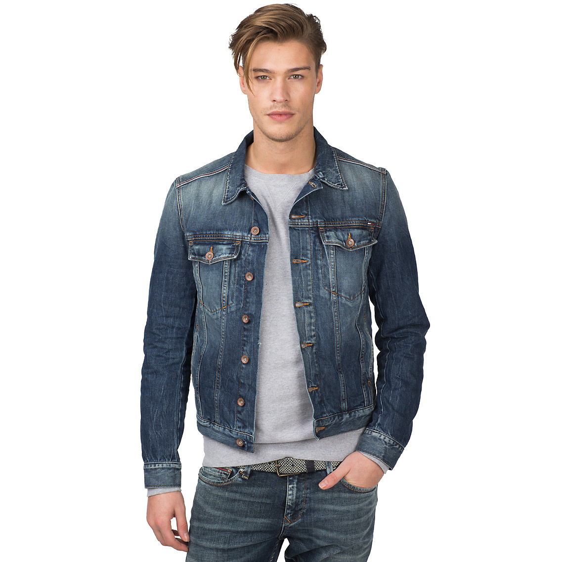 Tommy Hilfiger Iggy Denim Jacket in Blue for Men - Lyst