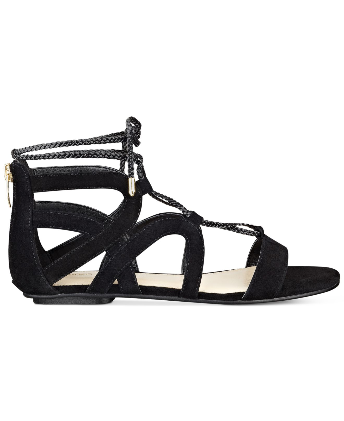 Marc Fisher Kapre Lace Up Ankle Tie Gladiator Sandals In