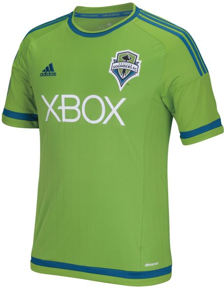 Adidas Men S Seattle Sounders Replica Jersey In Green For