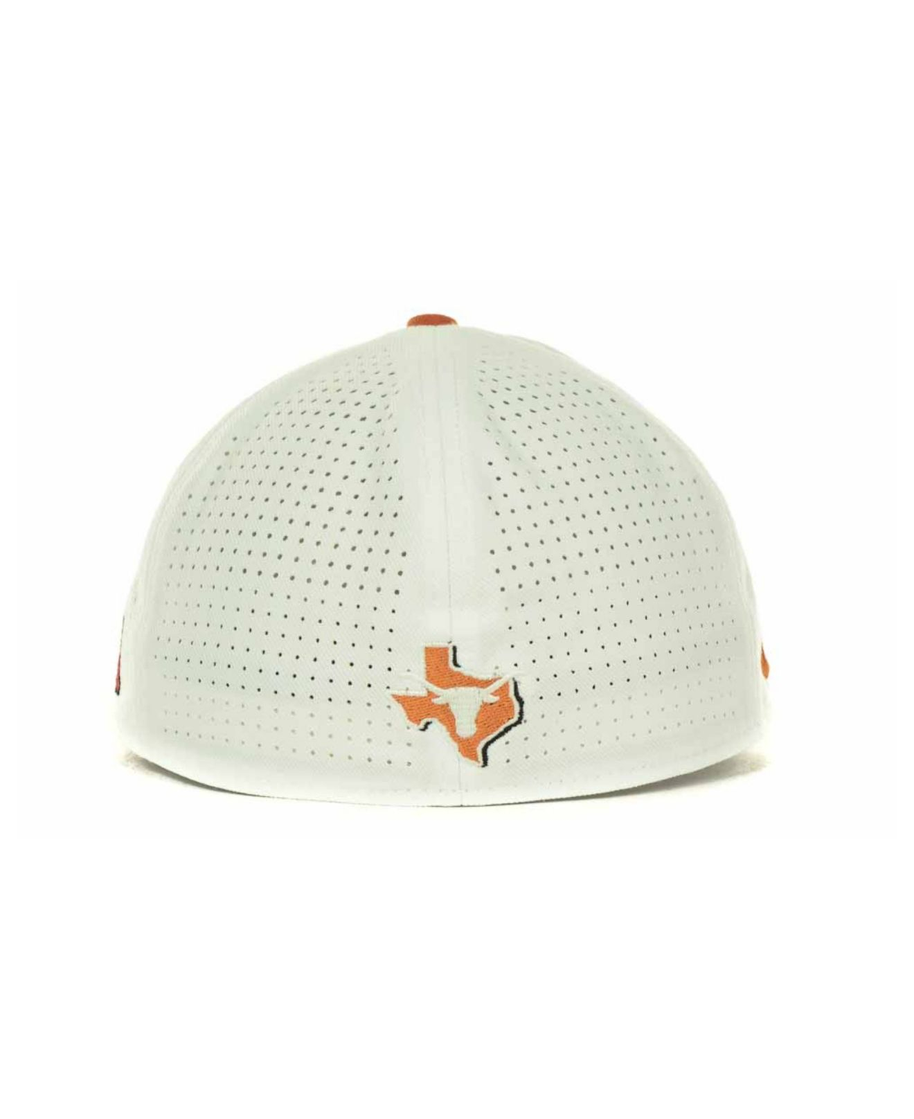 8ce55dc01763d Nike Texas Longhorns Ncaa Authentic Vapor Fitted Cap in White for ...