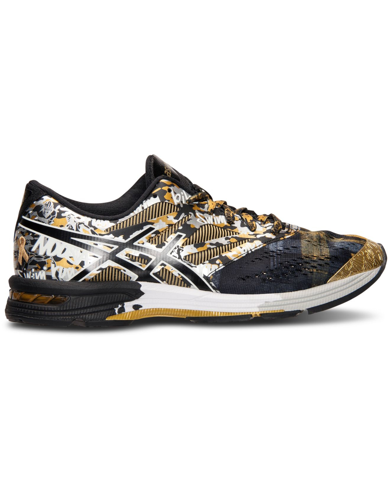 womens asics gel noosa tri 10 gold red