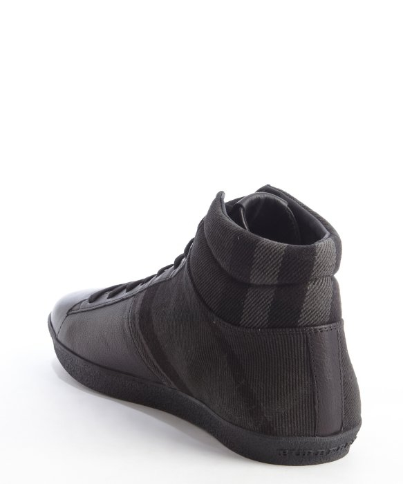 checked sneakers - Black Burberry AYWTyAHg