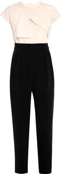 Max Mara Elegante Estro Jumpsuit in Black