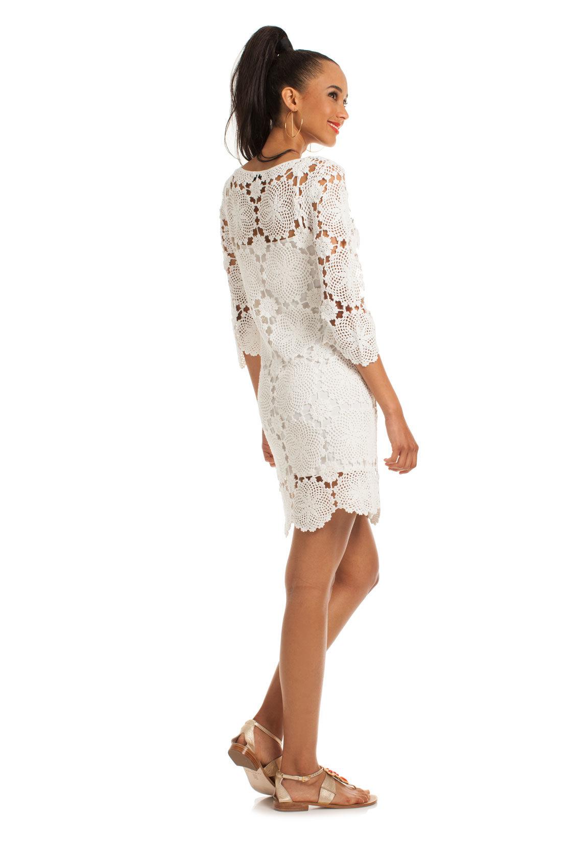 Trina turk Summertime Dress in White  Lyst