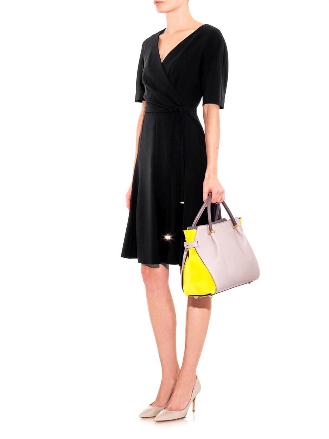 max mara studio pietra dress in black lyst. Black Bedroom Furniture Sets. Home Design Ideas