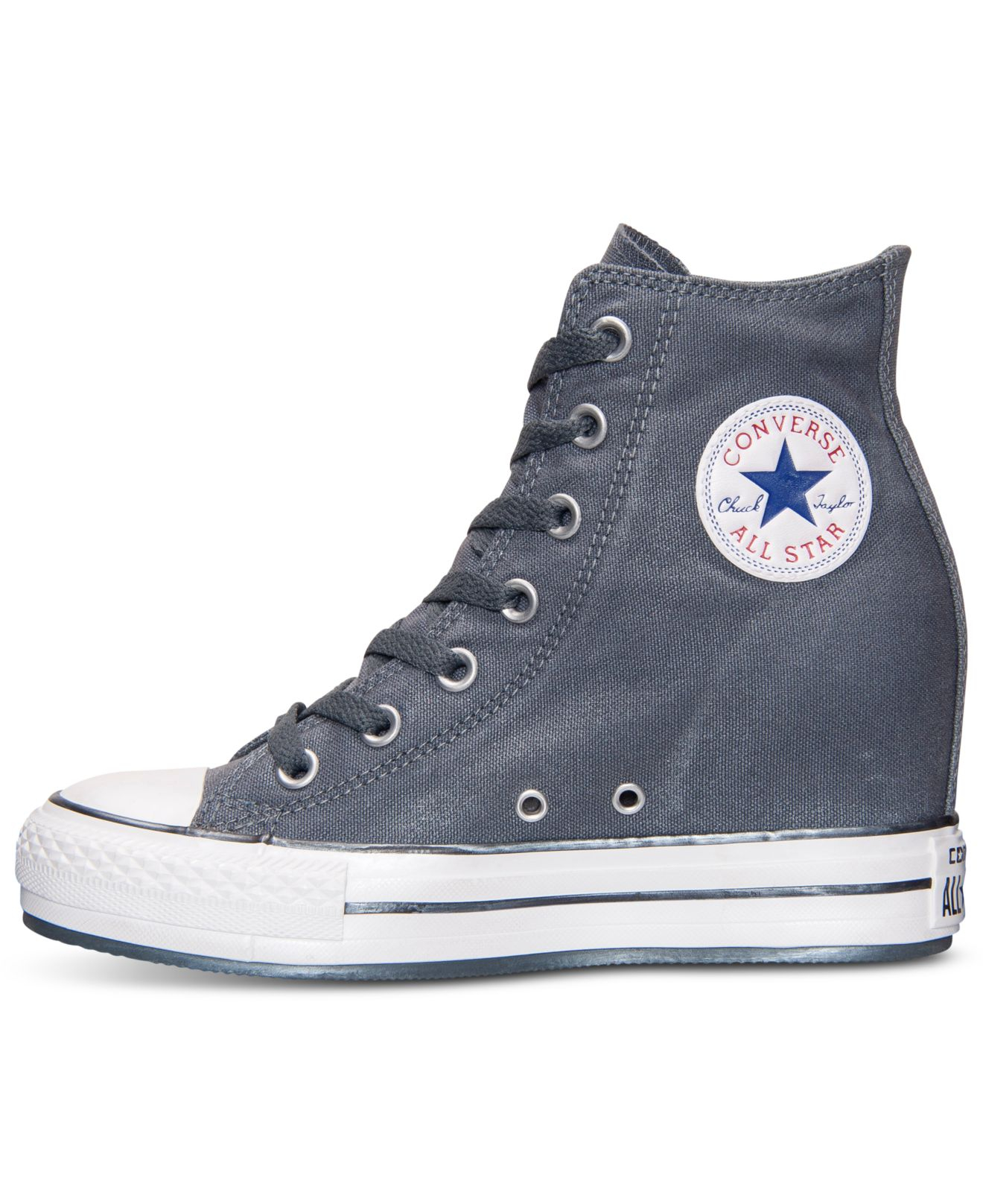 9c502b53f60 Lyst - Converse Women S Chuck Taylor All Star Platform Plus Sparkle ...