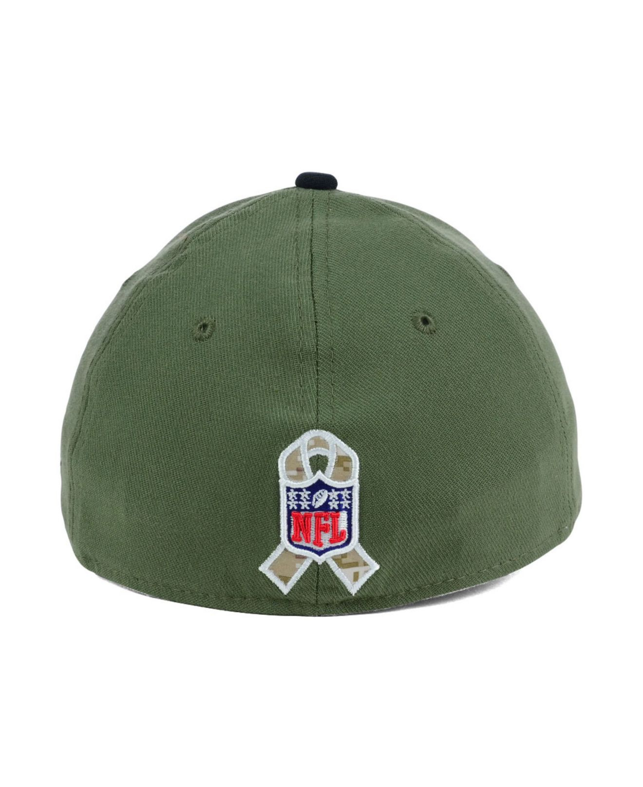 online store 10a02 fe99a ... usa where to buy lyst ktz baltimore ravens salute to service 39thirty  cap in green 06663