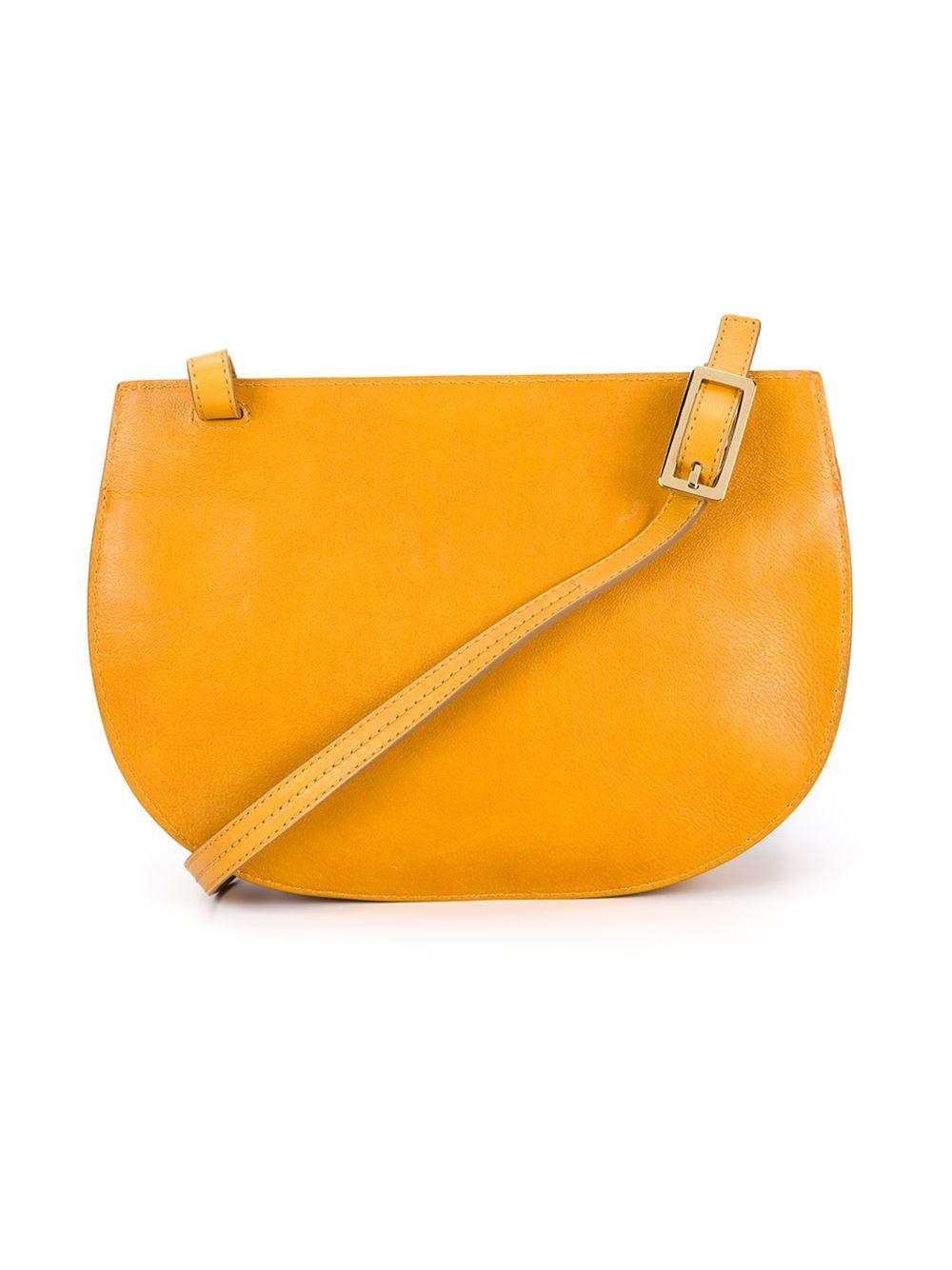 chlo 233 crossbody bag in yellow yellow orange