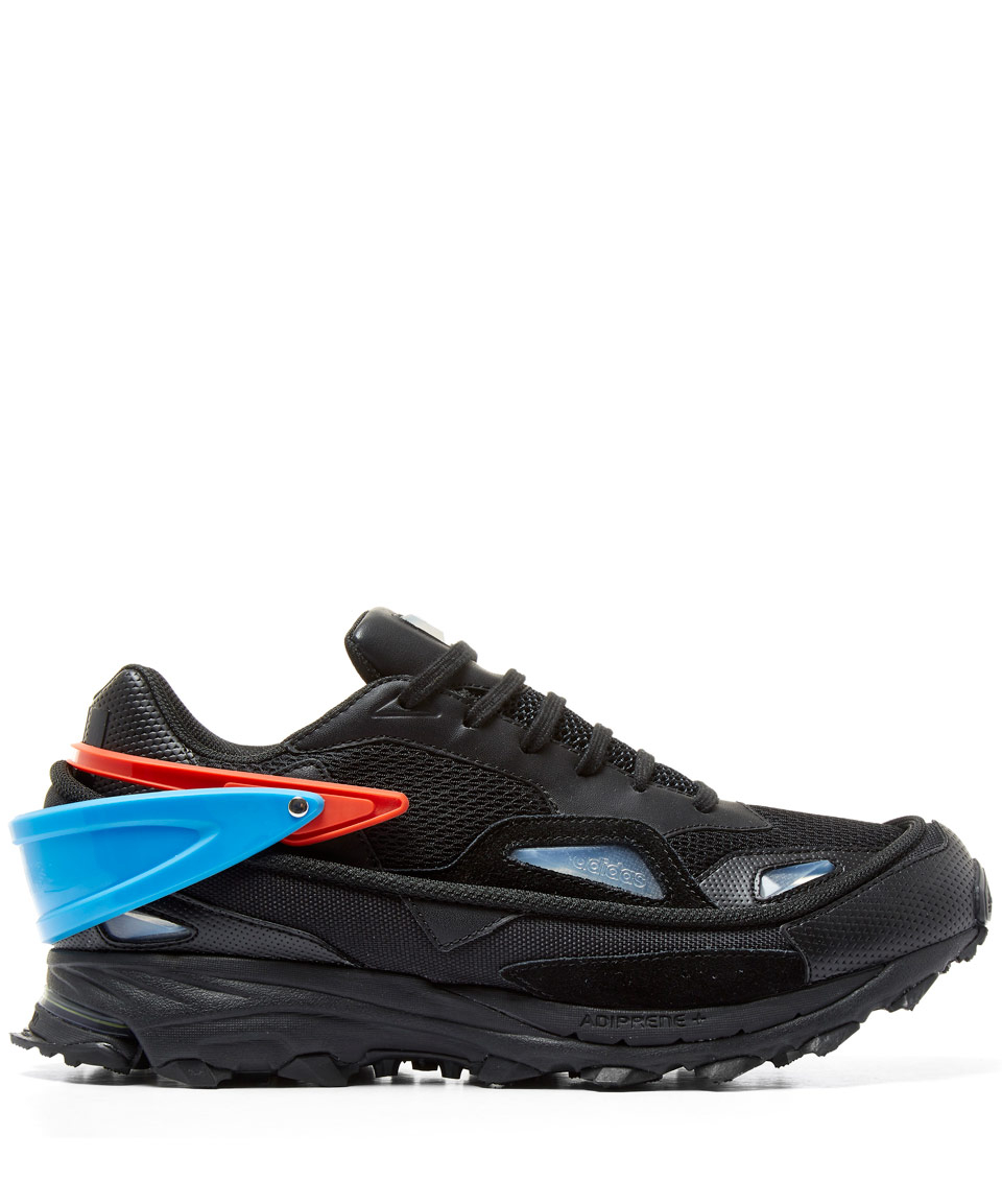 562f094d48ff Lyst - Raf Simons Black Response Trail 2 Trainers in Black for Men
