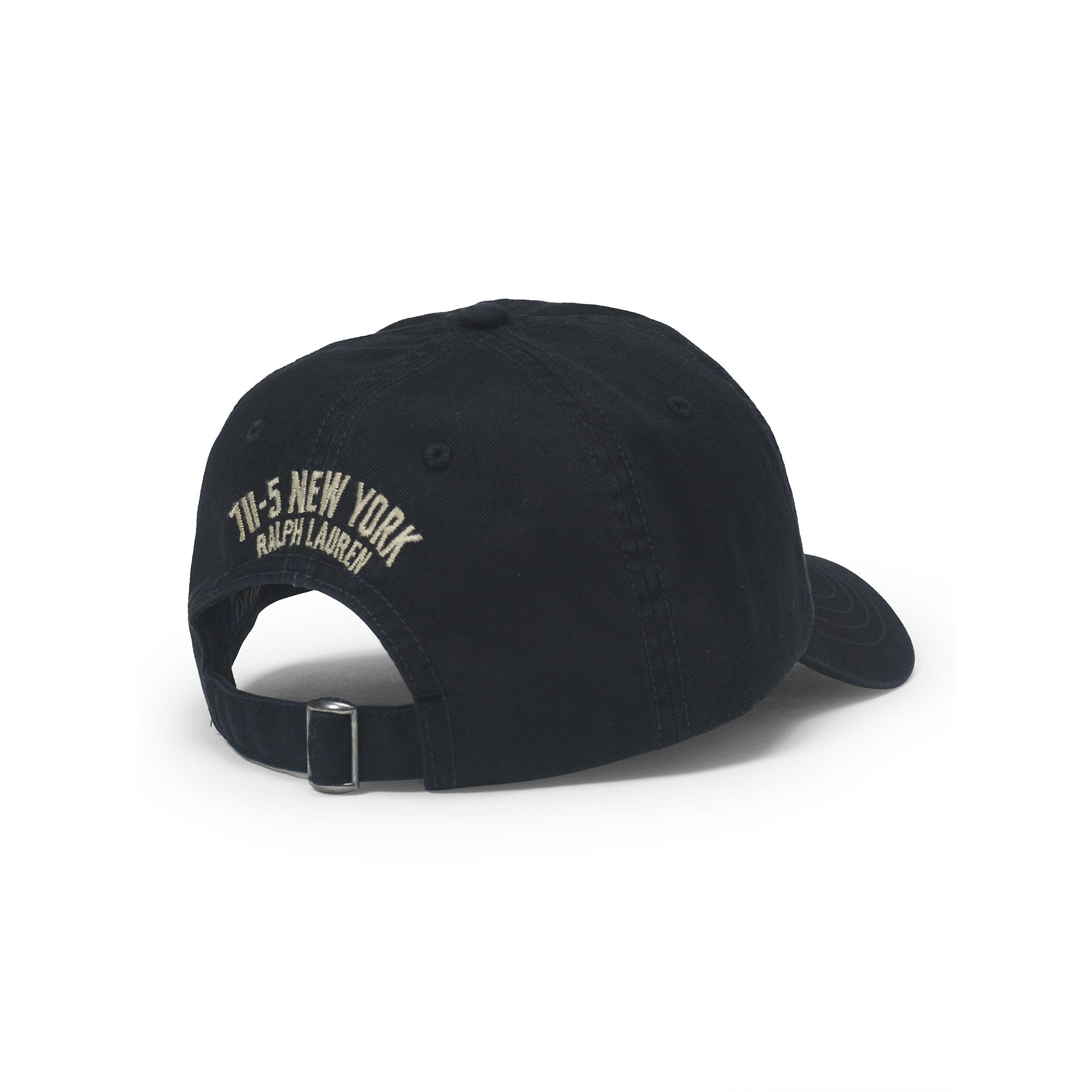 Lyst - Polo Ralph Lauren Varsity P Chino Baseball Cap in Black for Men 397e8ca965a
