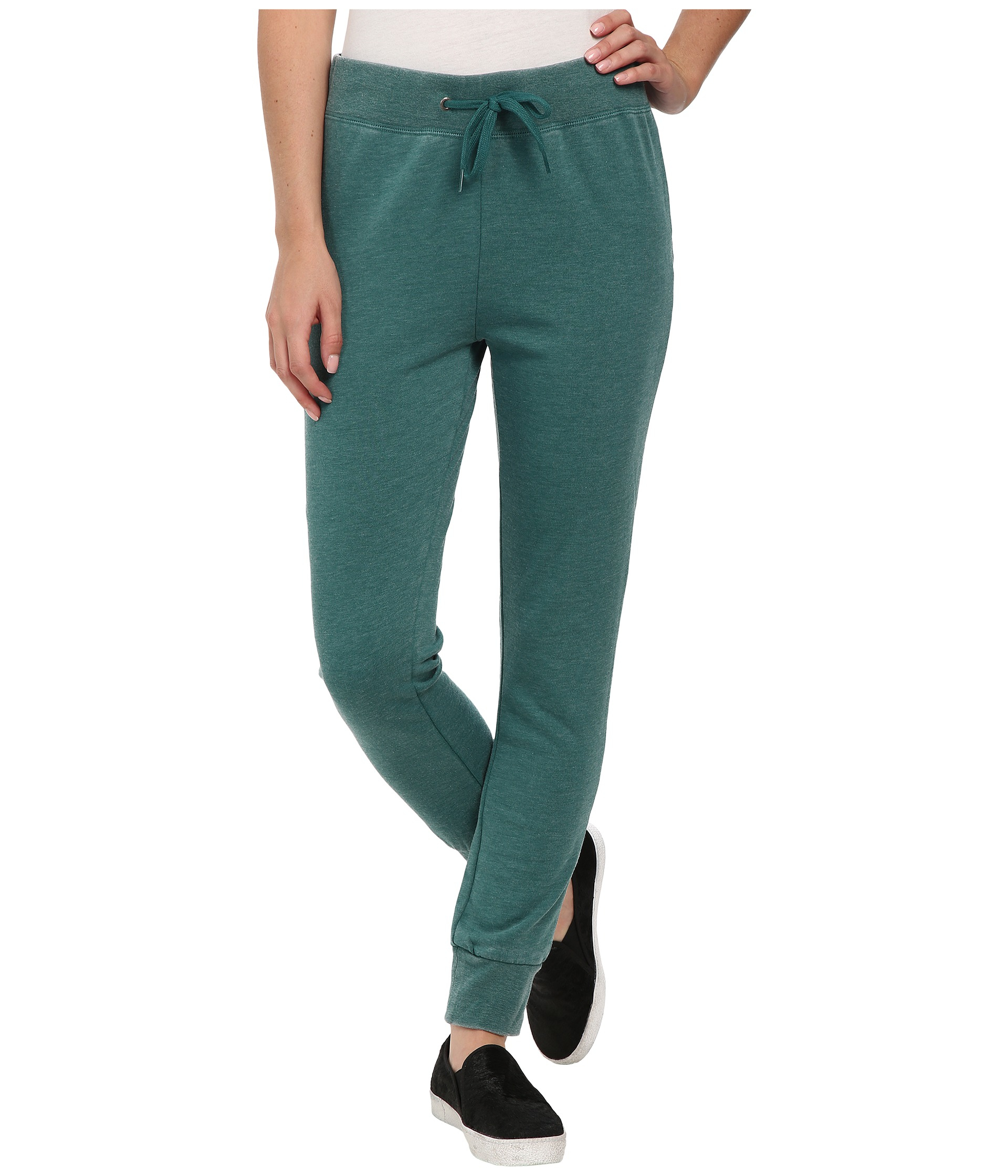 Volcom Lived In Fleece Pants in Green | Lyst