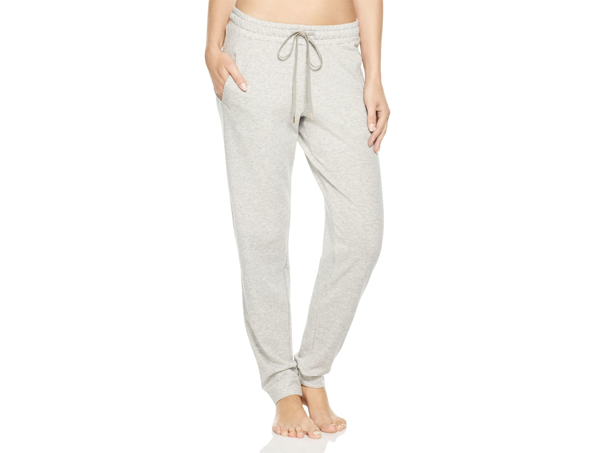 d21d754bb591a Hanro Yoga Fashion Lounge Pants in Gray - Lyst