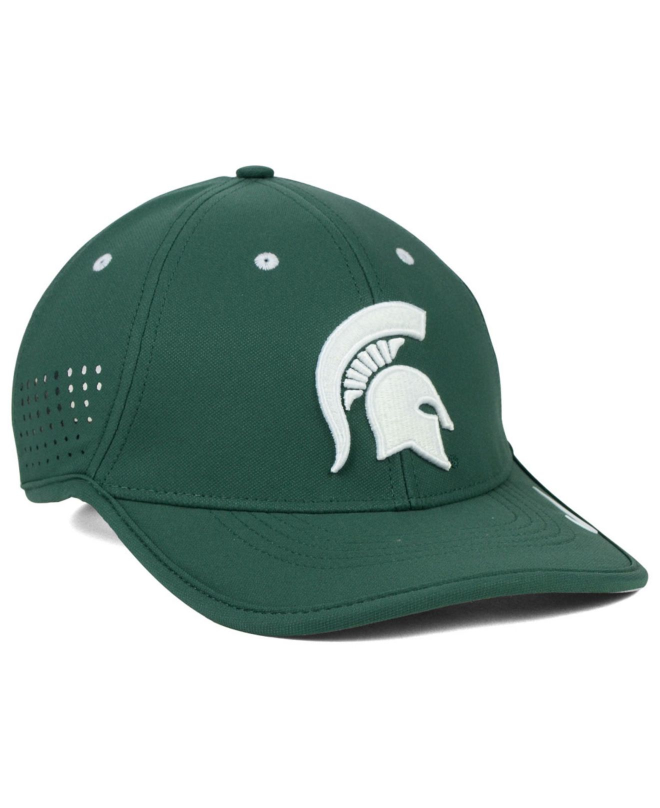 sports shoes 31088 4c7d1 ... where can i buy lyst nike michigan state spartans dri fit coaches cap  in green for