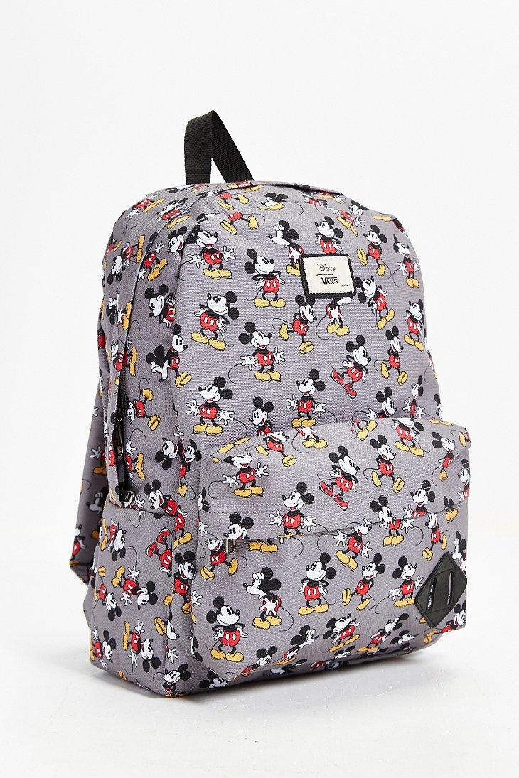 9d6ee99b38 Lyst - Vans Disney Old Skool Ii Backpack in Gray for Men