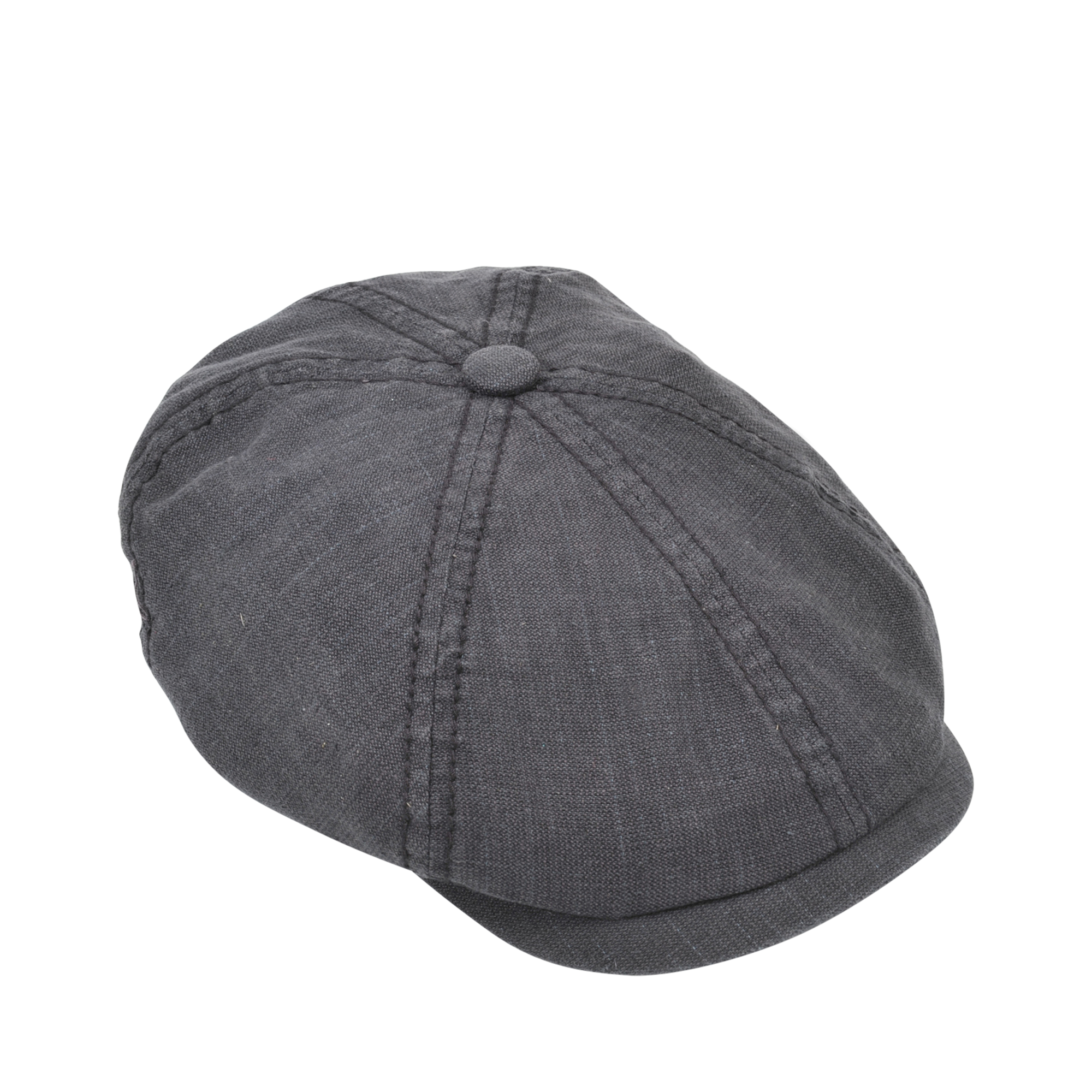 b3f81e9f Stetson Brooklyn Linen Cotton Cap in Gray - Lyst