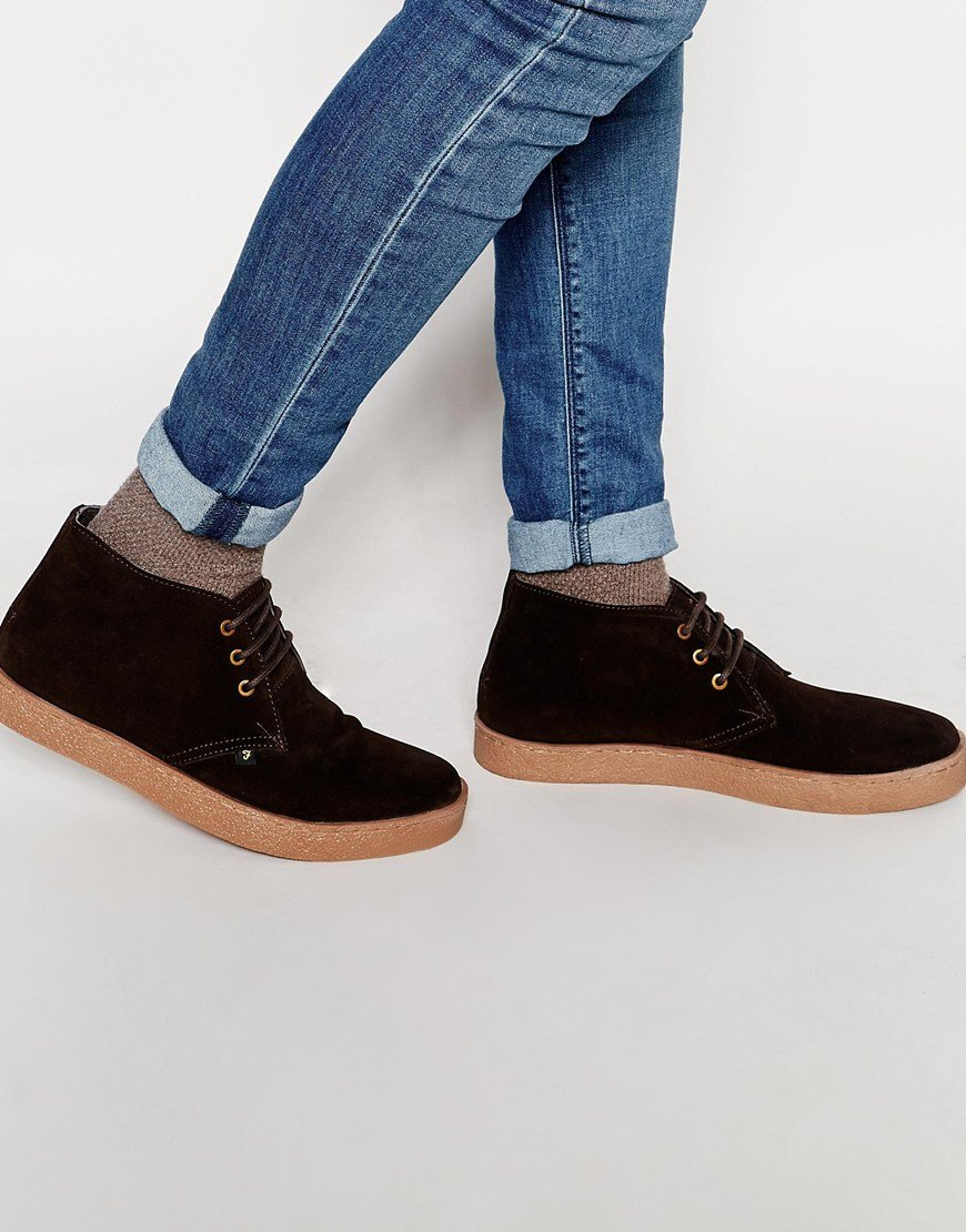 Buy Men Shoes / Farah Vintage Chukka