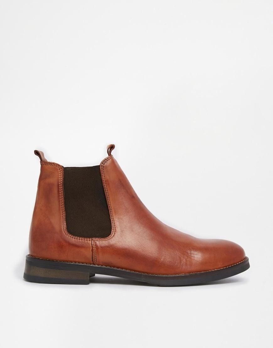 Outlet-Verkauf schnell verkaufend Geschäft SELECTED Brown Homme Chelsea Boots for men
