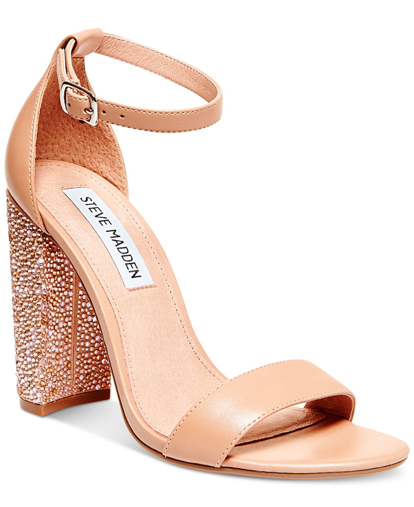 a914de20156 Lyst - Steve Madden Women s Carson-r Ankle Strap Sandals in Pink