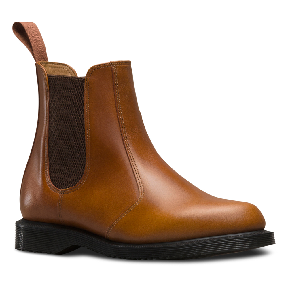 Lyst - Dr. Martens Flora Chelsea Boot in Brown