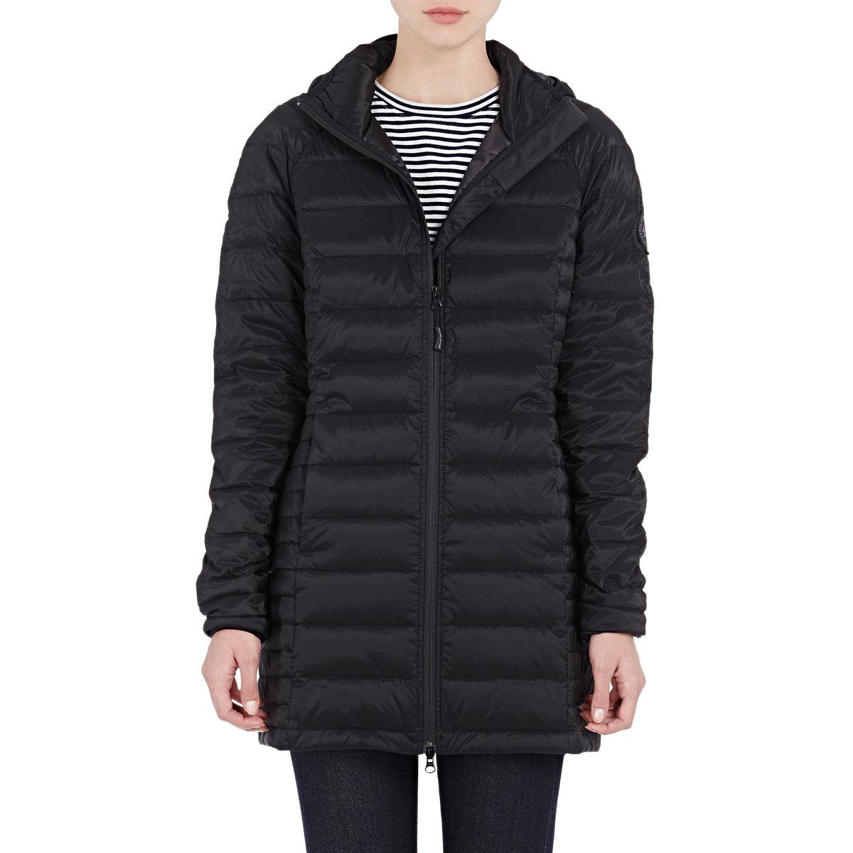 Canada Goose' Women's Brookvale Hooded Coat - Black
