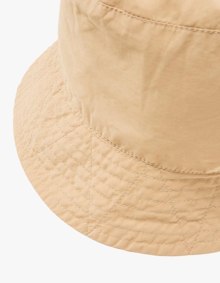 67f94ed6bbb90 Lyst - Engineered Garments Khaki Nyco Poplin Bucket Hat in Natural ...