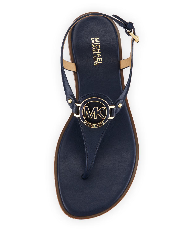 0fd46c33d Michael Kors Blue Sandals - Best Picture Of Blue Imageve.Org