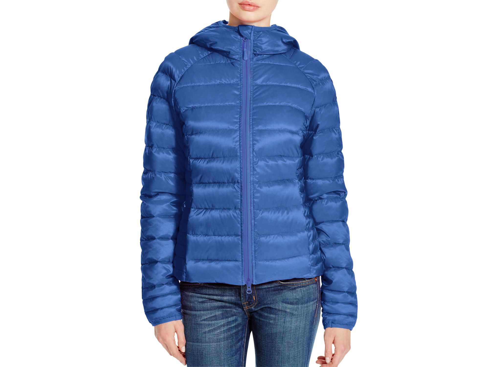 Canada Goose parka sale 2016 - Canada goose Brookvale Hooded Puffer Jacket in Blue (Royal Blue ...