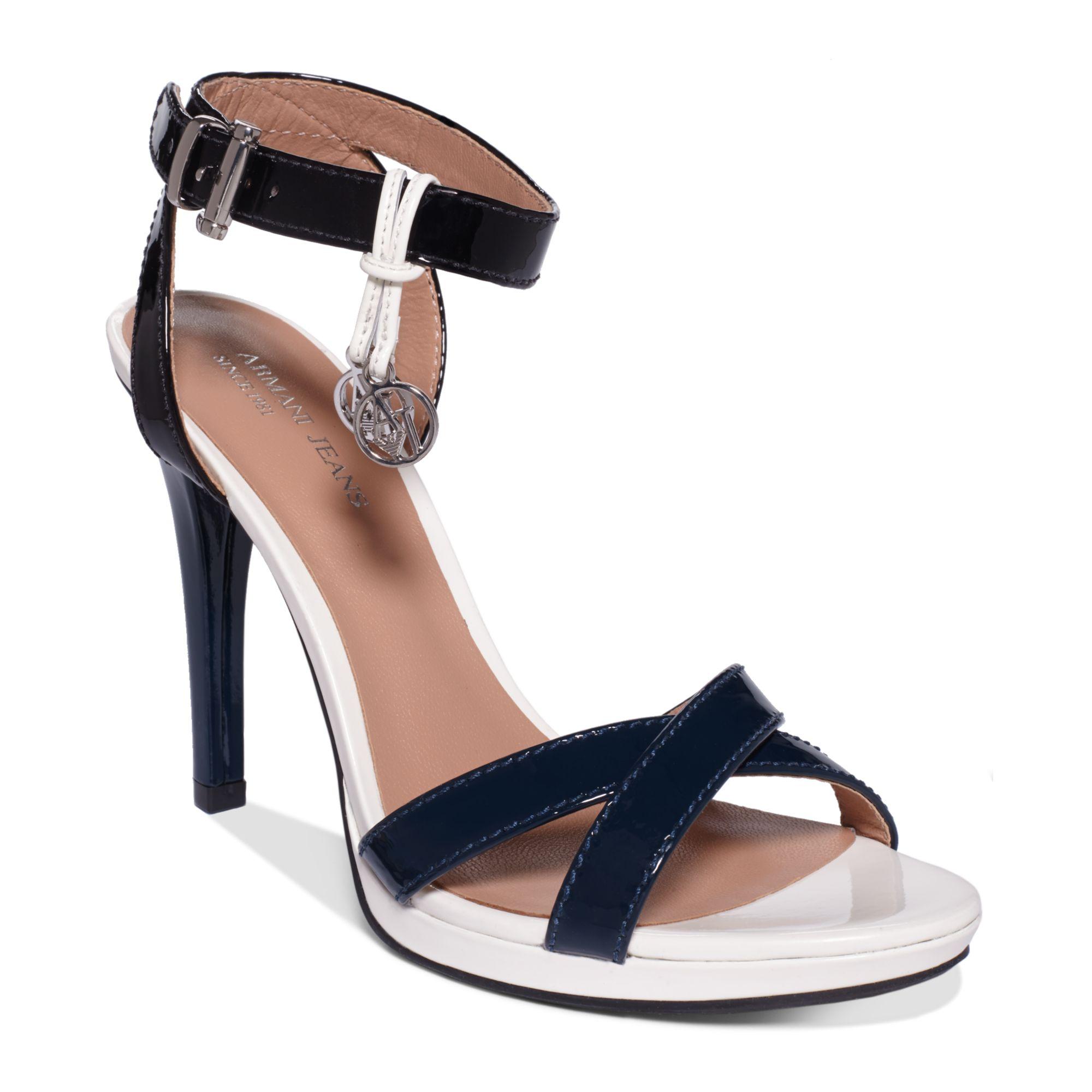 1d20170d9dc2 Lyst - Armani Jeans Womens High Heel Sandals