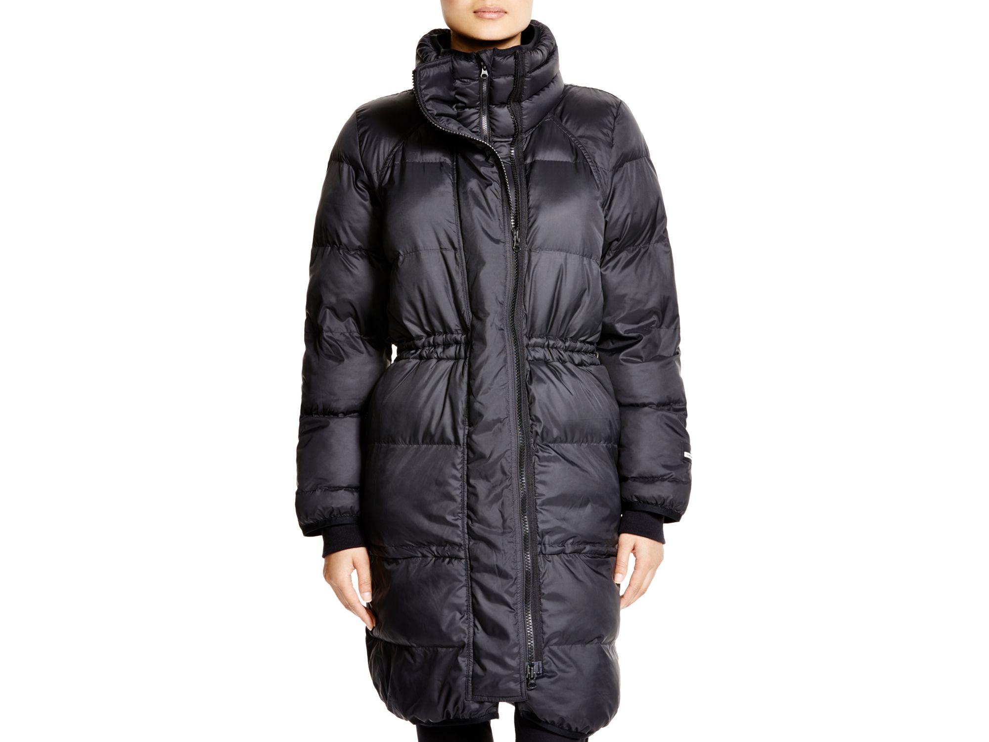 f962ab979 adidas By Stella McCartney Quilted Jacket in Black - Lyst